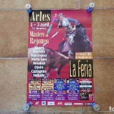 Carteles Toros: CARTEL PLAZA DE TOROS DE ARLÉS (1999) FRANCIA. Lote 194322101
