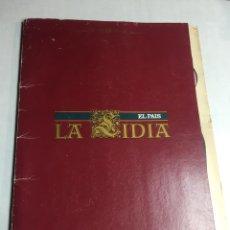 Carteles Toros: EL PAIS - LA LIDIA - 27 LAMINAS POR EL PERIODICO - 27X39CM. Lote 194367853
