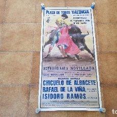 Affissi Tauromachia: CARTEL PLAZA DE TOROS DE VALENCIA (1986). Lote 194501126