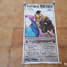 Carteles Toros: CARTEL PLAZA DE TOROS DE VALENCIA (1985). Lote 194504532