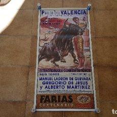 Carteles Toros: CARTEL PLAZA DE TOROS DE VALENCIA (1992). Lote 194505622