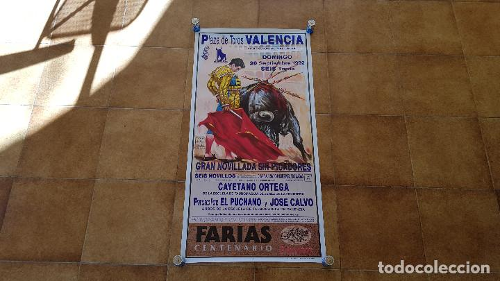 CARTEL PLAZA DE TOROS DE VALENCIA (1992) (Coleccionismo - Carteles Gran Formato - Carteles Toros)