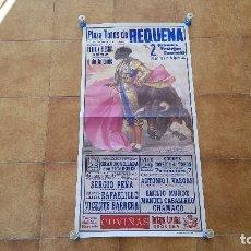 Carteles Toros: CARTEL PLAZA DE TOROS DE REQUENA (1992). Lote 194506110