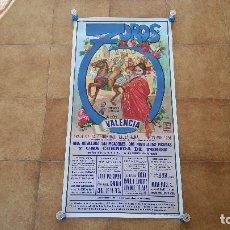 Carteles Toros: CARTEL PLAZA DE TOROS DE VALENCIA (1991). Lote 194506343