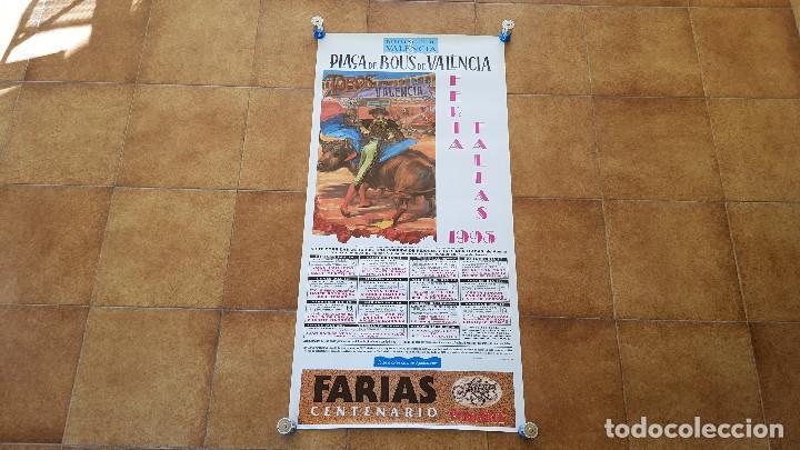 CARTEL PLAZA DE TOROS DE VALENCIA (1995) FERIA DE FALLAS (Coleccionismo - Carteles Gran Formato - Carteles Toros)
