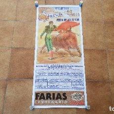 Carteles Toros: CARTEL PLAZA DE TOROS DE VALENCIA (1992) FERIA DE JULIO. Lote 194507615