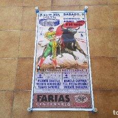 Carteles Toros: CARTEL PLAZA DE TOROS DE VALENCIA (1993). Lote 194591623