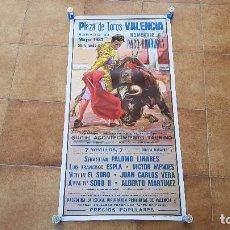 Affissi Tauromachia: CARTEL PLAZA DE TOROS DE VALENCIA (1987). Lote 194595955