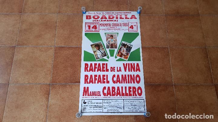 CARTEL PLAZA DE TOROS DE BOADILLA (1993) SALAMANCA (Coleccionismo - Carteles Gran Formato - Carteles Toros)