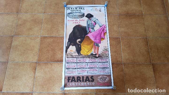 CARTEL PLAZA DE TOROS DE VALENCIA (1993) (Coleccionismo - Carteles Gran Formato - Carteles Toros)