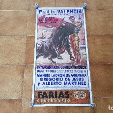 Carteles Toros: CARTEL PLAZA DE TOROS DE VALENCIA (1992). Lote 194609253