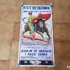 Carteles Toros: CARTEL PLAZA DE TOROS DE VALENCIA (1990). Lote 194614152