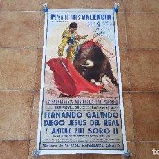 Carteles Toros: CARTEL PLAZA DE TOROS DE VALENCIA (1983). Lote 194636406