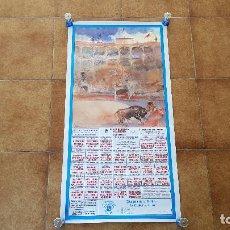 Carteles Toros: CARTEL PLAZA DE TOROS DE MADRID LAS VENTAS (S/F). Lote 194637035
