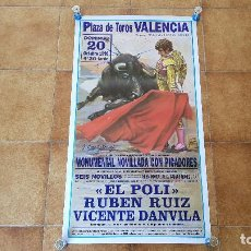Carteles Toros: CARTEL PLAZA DE TOROS DE VALENCIA (1996). Lote 194637171