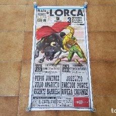 Carteles Toros: CARTEL PLAZA DE TOROS DE LORCA (1996). Lote 194637276