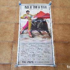 Affissi Tauromachia: CARTEL PLAZA DE TOROS DE SEVILLA (1986). Lote 194637417