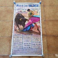 Carteles Toros: CARTEL PLAZA DE TOROS DE VALENCIA (1986). Lote 194637562