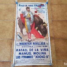 Carteles Toros: CARTEL PLAZA DE TOROS DE VALENCIA (1986). Lote 194638248