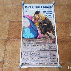Carteles Toros: CARTEL PLAZA DE TOROS DE VALENCIA (1987) FALLAS. Lote 194638897