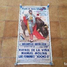 Carteles Toros: CARTEL PLAZA DE TOROS DE VALENCIA (1986) FALLAS. Lote 194638970