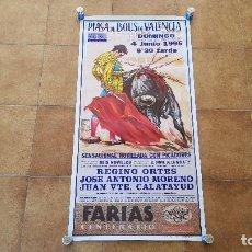 Carteles Toros: CARTEL PLAZA DE TOROS DE VALENCIA (1995). Lote 194765045