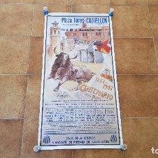 Carteles Toros: CARTEL PLAZA DE TOROS DE CASTELLON (1987) FERIA DE LA MAGDALENA. Lote 194768287