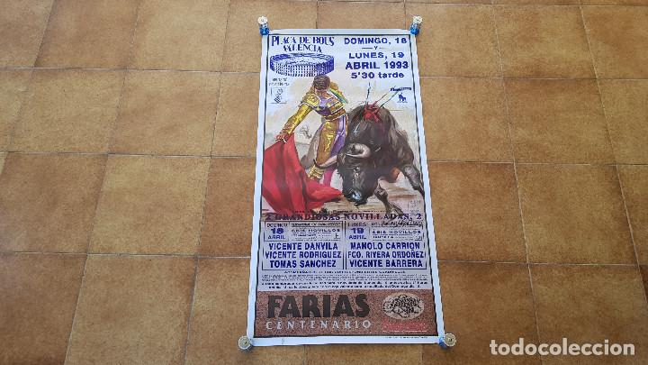CARTEL PLAZA DE TOROS DE CASTELLON (1993) (Coleccionismo - Carteles Gran Formato - Carteles Toros)