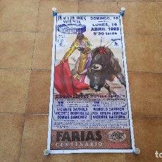 Carteles Toros: CARTEL PLAZA DE TOROS DE CASTELLON (1993). Lote 194769261