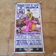 Carteles Toros: CARTEL PLAZA DE TOROS DE VALENCIA (1990). Lote 195136417