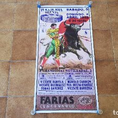 Carteles Toros: CARTEL PLAZA DE TOROS DE VALENCIA (1993). Lote 195148661