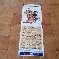 Carteles Toros: CARTEL PLAZA DE TOROS DE SEVILLA (1995). Lote 195148913