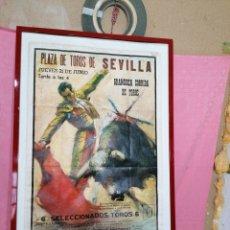 Carteles Toros: CARTEL DE TOROS DEL 1965. Lote 195175457