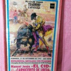 Carteles Toros: CARTEL DE TOROS. Lote 195199183