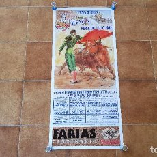 Carteles Toros: CARTEL PLAZA DE TOROS DE VALENCIA (1992) FERIA DE JULIO. Lote 195267928