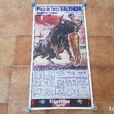 Carteles Toros: CARTEL PLAZA DE TOROS DE VALENCIA (1991) FALLAS. Lote 195268718