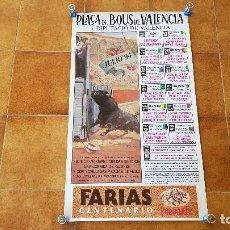 Carteles Toros: CARTEL PLAZA DE TOROS DE VALENCIA (1994) LITRI, JESULIN, EL CORDOBES.... Lote 195299873
