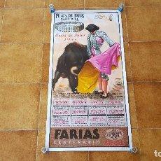 Carteles Toros: CARTEL PLAZA DE TOROS DE VALENCIA (1993) LITRI, JESULIN, EL SORO.... Lote 195300218