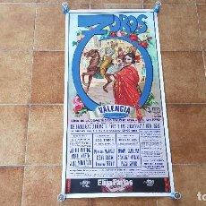 Carteles Toros: CARTEL PLAZA DE TOROS DE VALENCIA (1990). Lote 195303131