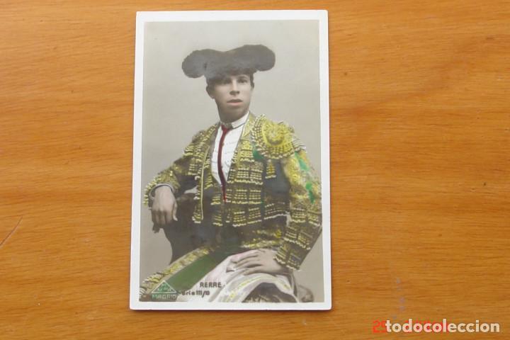 POSTA ANTIGUA TORERO - RERRE (Coleccionismo - Carteles Gran Formato - Carteles Toros)