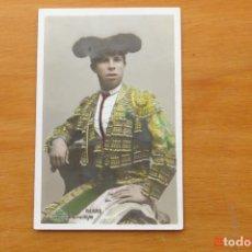 Carteles Toros: POSTA ANTIGUA TORERO - RERRE. Lote 195319918
