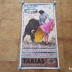 Carteles Toros: CARTEL PLAZA DE TOROS DE VALENCIA (1993) FERIA DE JULIO. Lote 195515621