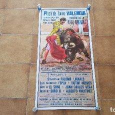 Carteles Toros: CARTEL PLAZA DE TOROS DE VALENCIA (1987). Lote 195515938