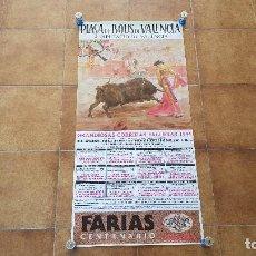 Carteles Toros: CARTEL PLAZA DE TOROS DE VALENCIA (1994) FALLAS. Lote 195516192
