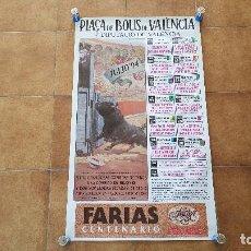 Carteles Toros: CARTEL PLAZA DE TOROS DE VALENCIA (1994) FERIA DE JULIO. Lote 195516437