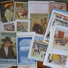 Carteles Toros: LOTE DE 18 PROGRAMAS DE TOROS DE SEVILLA. Lote 198574947
