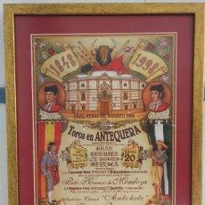 Carteles Toros: CARTEL PLAZA DE TOROS DE ANTEQUERA 1998. Lote 198602187