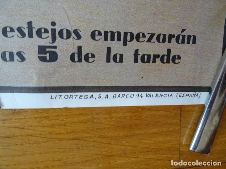 Carteles Toros: años 1970. cartel toros grande. Castellar de santiago. ciudad real - Foto 3 - 198748738
