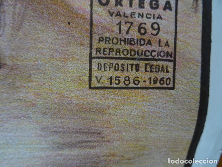 Carteles Toros: años 1970. cartel toros grande. Castellar de santiago. ciudad real - Foto 4 - 198748738
