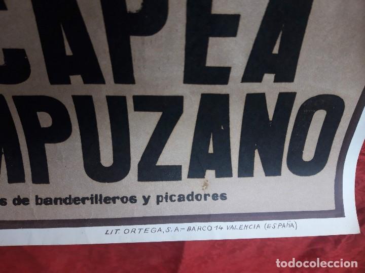 Carteles Toros: Cartel Plaza de toros de Madrid, 1983. Damaso Gonzalez, Niño de la capea, Jose A. Campuzano - Foto 6 - 199981618